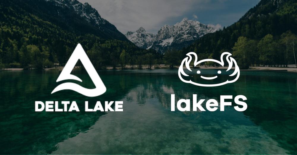 lakeFS Delta Lake Scenic Lake