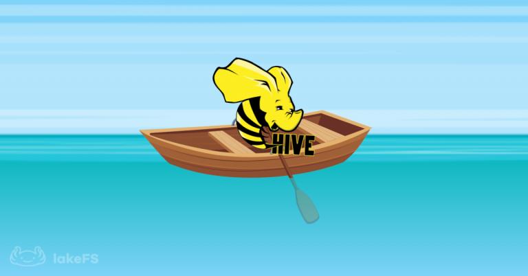 Hive Logo Water lakeFS